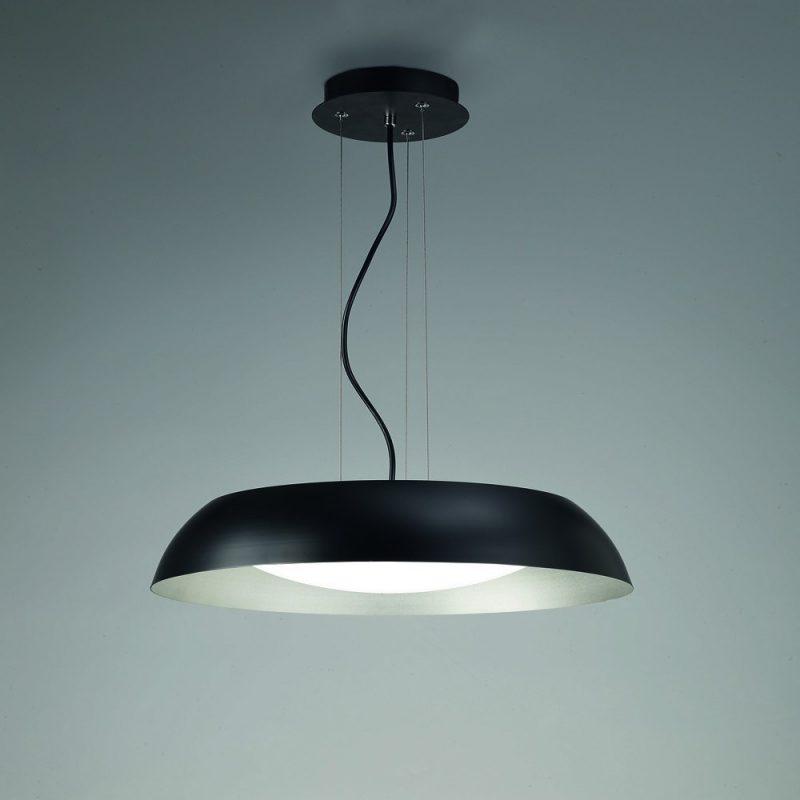 Lámpara-colgante-Argenta-negro-Mantra-Ayora-Iluminación
