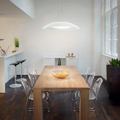 Lámpara-colgante-Lena-D74-blanco-Ideallux-Ayora-Iluminación
