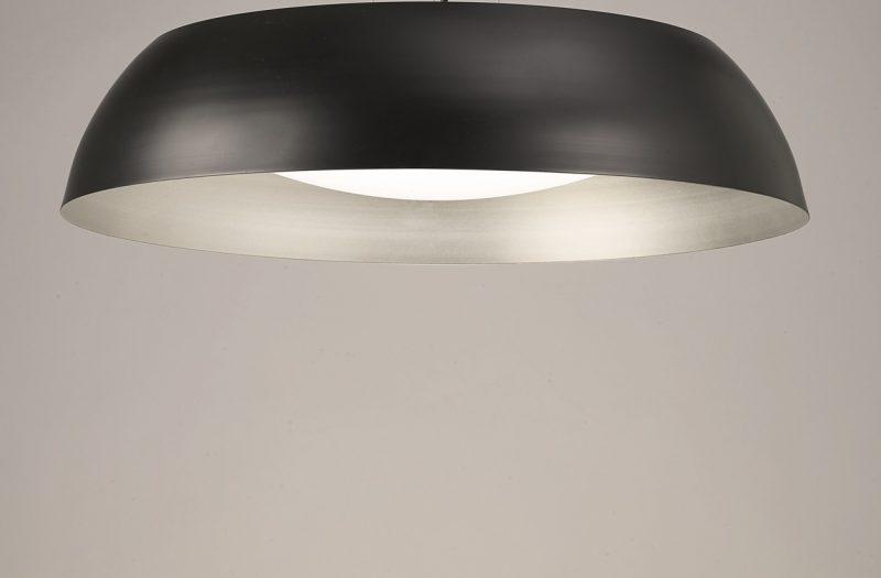 Lámpara-plafon-Argenta-negro-Mantra-Ayora-Iluminación