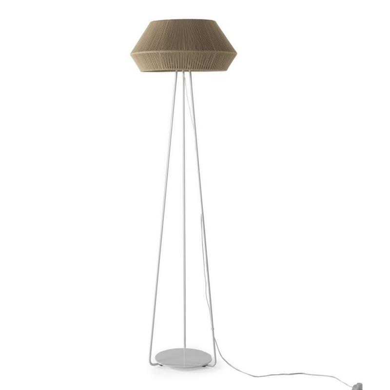 Lámpara-pie-Banyo-beige-OlebyFM-Ayora-Iluminación