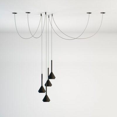 ayora-ilumincion-valencia-colgante-spin-negro-led-arkoslight