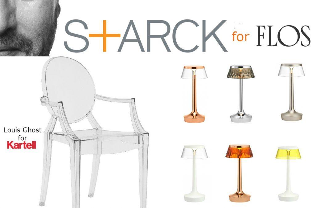 Bonita. Funcional. Inconfundible. Lámpara Bon Jour Unplugged de Philippe #Starck