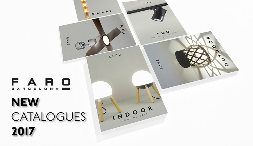 Faro presenta sus nuevos catálogos para 2017