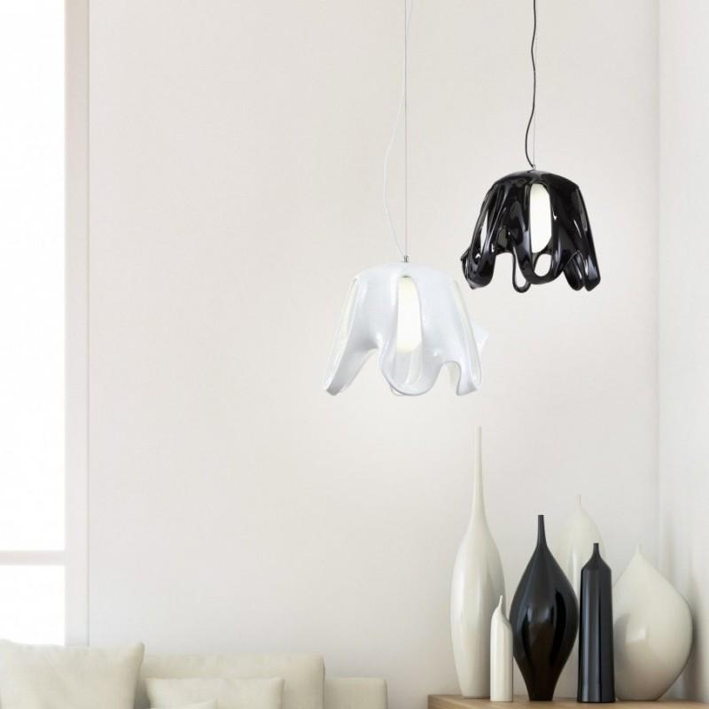 mantra-phantom-lampara-colgante-blanco-negro-ayora-iluminacion-led