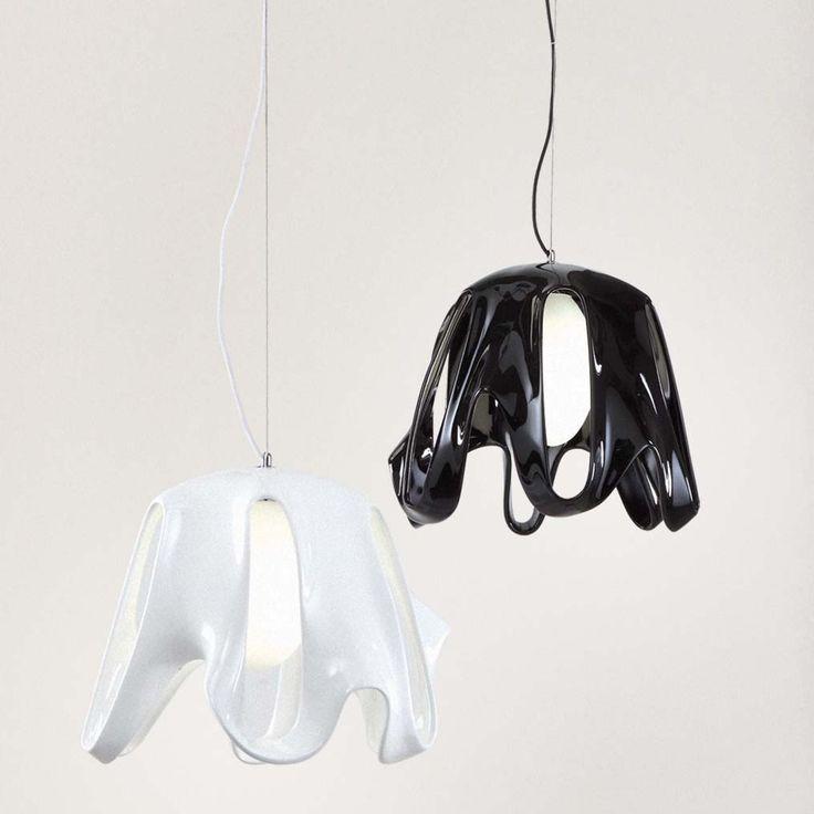 mantra-phantom-lampara-colgante-blanco-negro-ayora-iluminacion