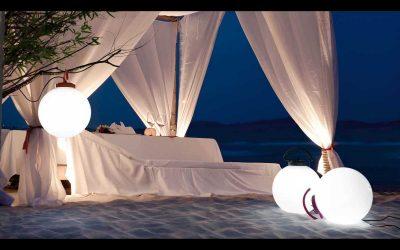 Lámparas de exterior para terraza y jardín de Faro: originales propuestas de diseño