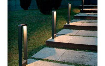 Iluminación LED para el jardín: aplique y baliza ALP LED y DAS LED de Faro