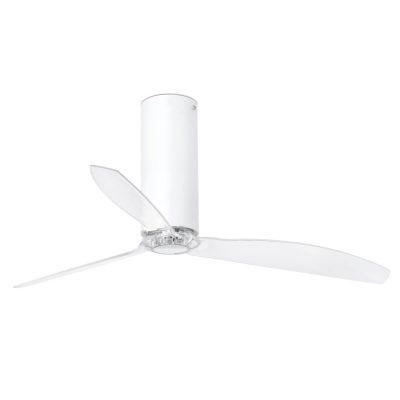 ventilador-techo-tube-fan-faro-32033-blanco-brillo-transparente-motor-dc-ayora-iluminacion