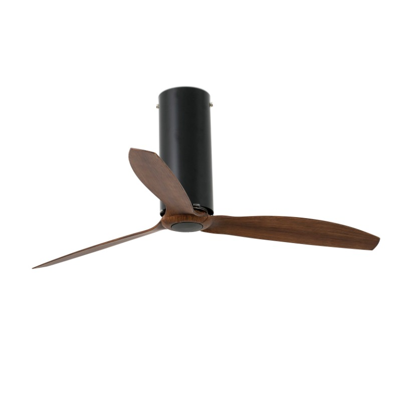 ventilador-techo-tube-fan-faro-negro-mate-madera-32037-motor-dc-ayora-iluminacion