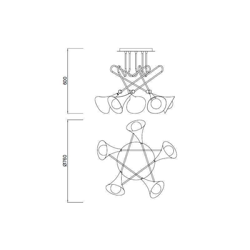 lampara-techo-jazz-5l-e27-mantra-ayora-iluminacion-dimensiones