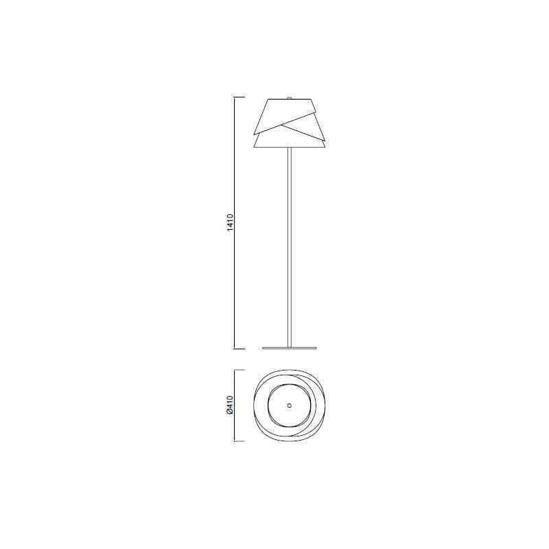 lampara-mantra-alboran-pie-5864-ayora-iluminacion-dimensiones