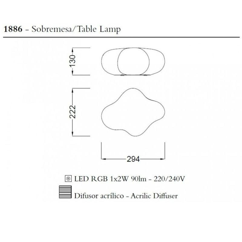 lampara-sobremesa-eos-led-rgb-mantra-ayora-iluminacion-dimensiones
