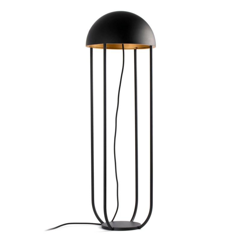lampara-pie-jellyfish-led-faro-negro-ayora-iluminacion-3