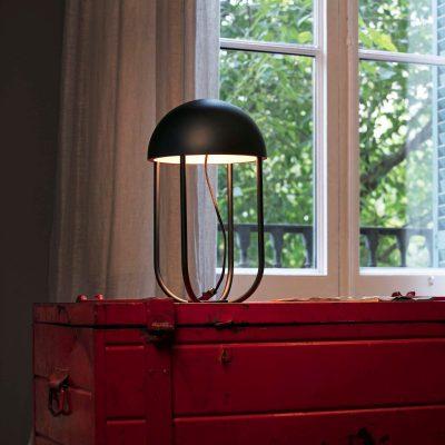 lampara-sobremesa-jellyfish-led-faro-negro-ayora-iluminacion