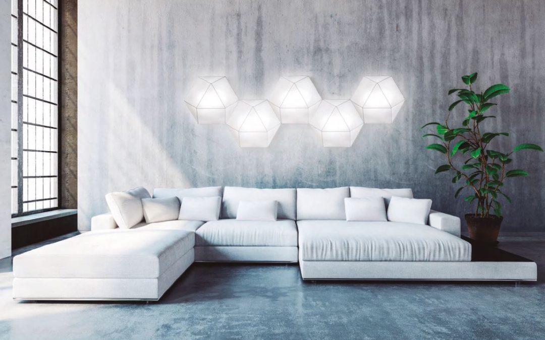 Plafones de Ole by FM: diseño minimalista e innovador para el hogar del s.XXI