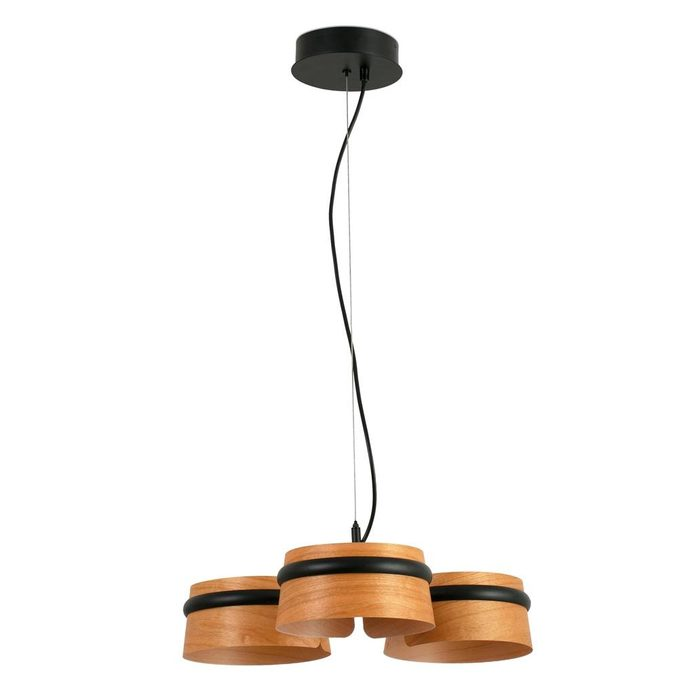 lampara-colgante-loop-led-faro-29567-negra-madera-cerezo-ayora-iluminacion-0