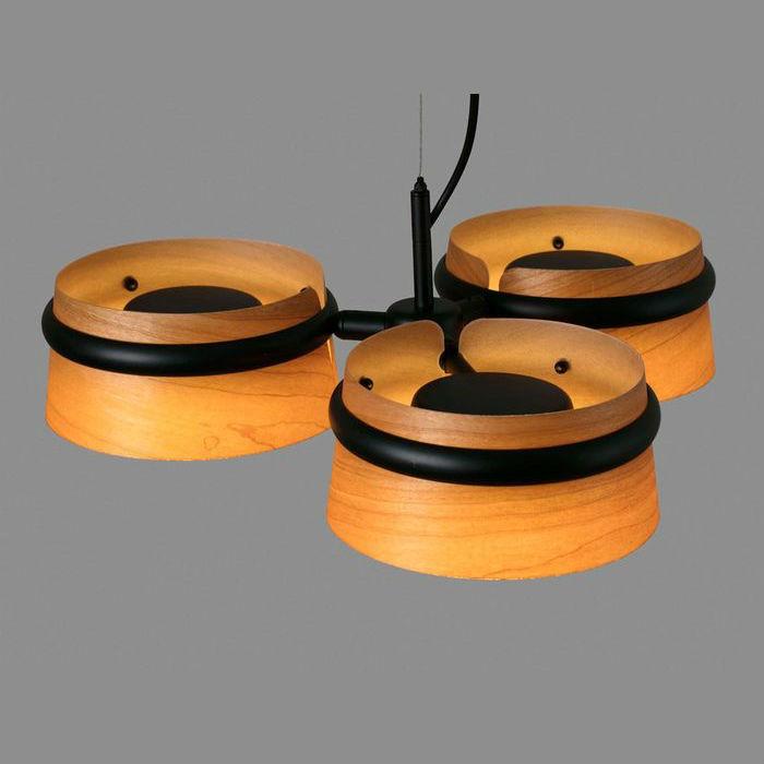 lampara-colgante-loop-led-faro-29567-negra-madera-cerezo-ayora-iluminacion-1