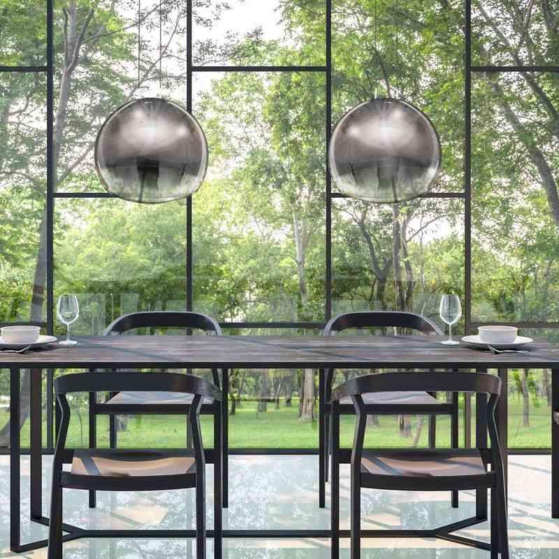 lampara-colgante-mantra-lens-grafito-grande-vidrio-soplado-ayora-iluminacion-ambiente