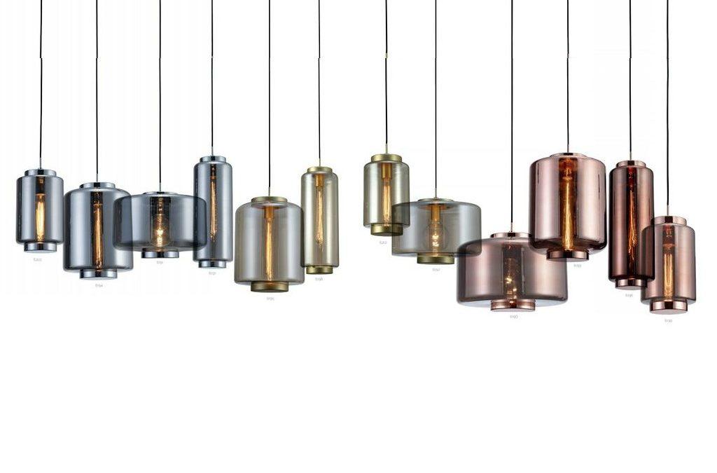 Lámpara colgante JARRAS de Mantra: vidrio vintage en 3 acabados y 4 tamaños.