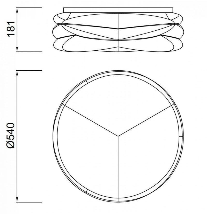 lampara-plafon-mantra-lascas-blanco-mate-led-55w-regulable-mando-temperatura-5956-ayora-iluminacion-dimensiones