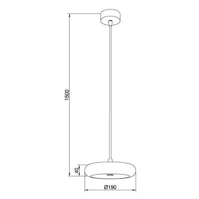 lampara-colgante-boina-led-c-196-20-pujol-iluminacion-ayora-dimensiones
