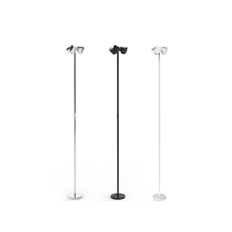 lampara-pie-led-trio-p-201-sl-pujol-iluminacion-ayora-blanco-negro-cromo