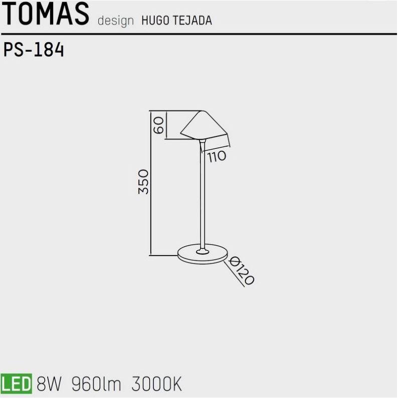 lampara-sobremesa-tomas-ps-186-pujol-iluminacion-ayora-colores-dimensiones