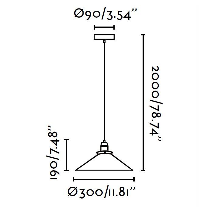 lampara-colgante-faro-marlin-negro-64133-ayora-iluminacion-dimensiones
