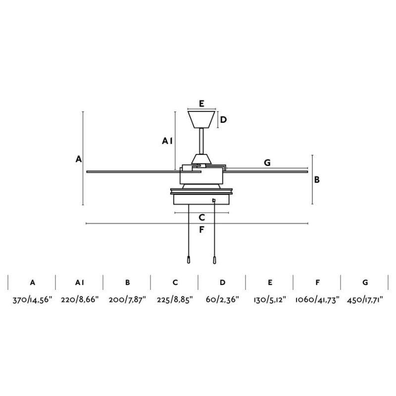 ventilador-faro-komodo-33723-techo-luz-ayora-iluminacion-negro-mate-dimensiones