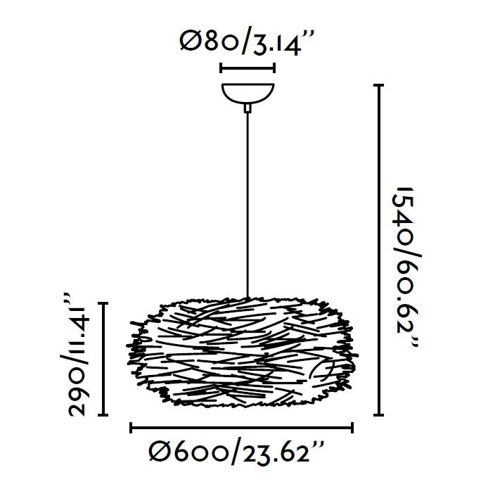 lampara-colgante-faro-nido-marron-68153-ayora-iluminacion-dimensiones